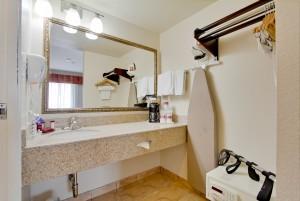 Ramada by Wyndham San Diego Airport - Bathroom Vanity at San Diego Airport Ramada
